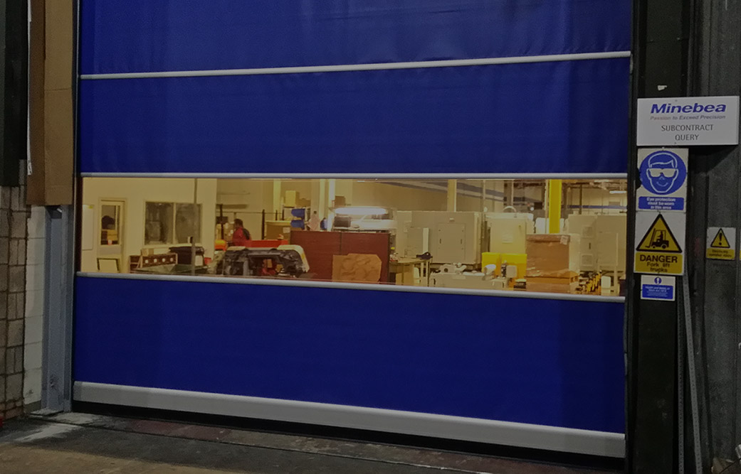 High Speed Fast Action Doors Installed By SDG UK